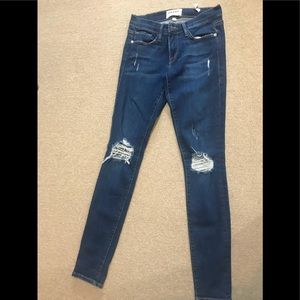 Frame jeans size 24 only worn a few times